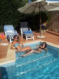 Scala romana piscina