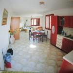 Zona giorno e cucina