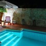 Scala romana la sera piscina