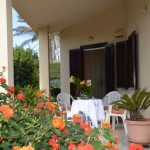 1 Veranda con vista giardino