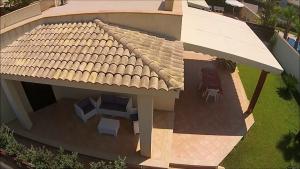 Villa Giovy vista dall'alto